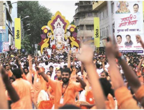 Ganeshotsav celebration in Pune