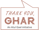 Thank You Ghar Logo
