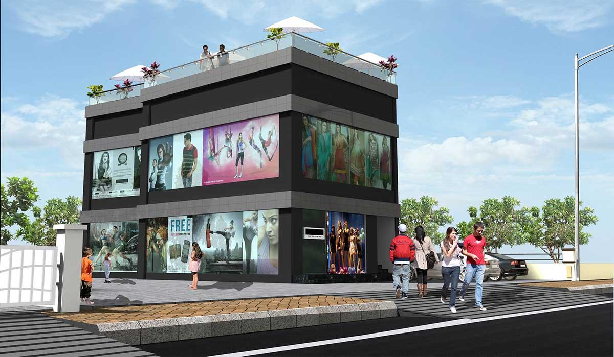 Aakashganga commercial shops Pune