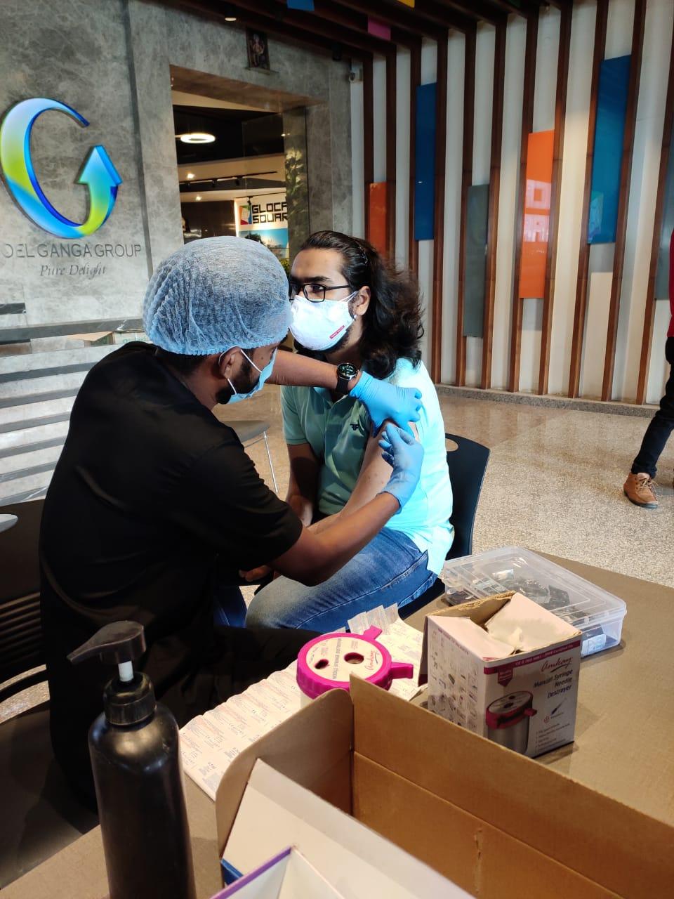 Vaccination Drive Goel Ganga Group
